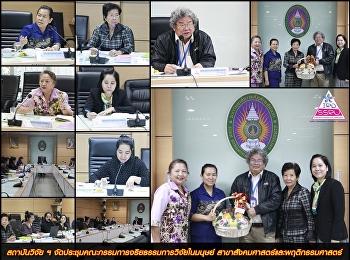 สถาบันวิจัย ฯ จัดประชุมคณะกรรมการจริยธรรมการวิจัยในมนุษย์ สาขาสังคมศาสตร์และพฤติกรรมศาสตร์
