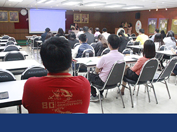 The Research and Development Institute held a meeting to explain the guidelines for the development of journal quality in the TCI database for the fiscal year 2020.