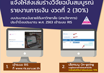 the submission of the complete research report, budget, income, university Budget year 2556