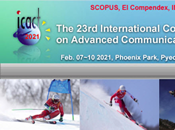 2021 23rd International Conference on Advanced Communication Technology (ICACT)